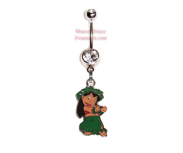 Lilo Dancing Belly Ring